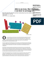 The periodic table is an icon. But chemists still can't agree on how to arrange it.pdf