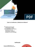 Validacion y calidad de software