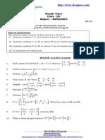 Maths Xii Term-1 2010