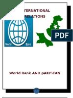 World Bank and Pakistan