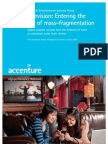 Television the Accenture Global Broadcast Consumer Survey 2009