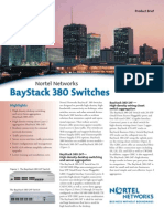 BayStack 380 Switches