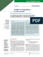 Profilaxis antitrombótica en Qx plástica