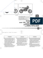 Husqvarna WRE 125 2005 Owners Manual