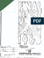 Pegasus Program Final Report