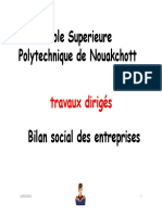 TD BILAN SOCIAL