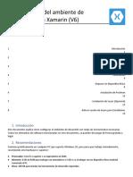 Configuración del Ambiente de Desarrollo para Xamarin (v6)