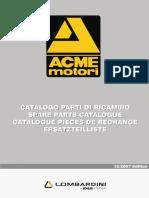 ACME catalogo ricambi