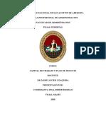 UNIVERSIDAD NACIONAL DE SAN AGUSTIN DE AREQUIPA