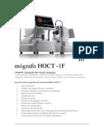 Tomógrafo HOCT - HUVITZ