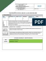 Tareas N.- 10 Primero de Bachillerato 2019 2020COVID19   2019 2020