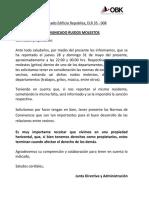 ELR 35 - 008 COMUNICADO RUIDOS MOLESTOS