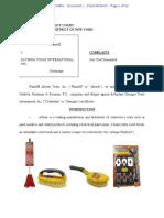 Allway Tools v. Olympia Tools - Complaint