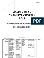Yearly Plan Chemistry f4
