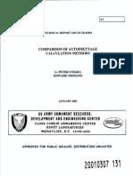 Comparison of Autofrettage Methods - Ohara