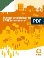 Manuel de Plaidoyer de CARE International
