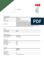 TERMOMAGNETICO ABB S201-C10