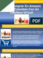 Como Comprar En Amazon Desde Colombia Con Un Casillero Virtual.pdf