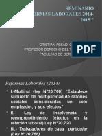 reformas laborales 2014-2015