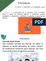 ADMINISTRACIÓN  DE LA DEMANDA - PRONÓSTICOS