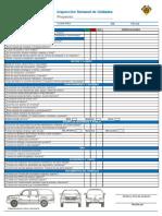 Lista de Verificación Semanal Vehiculos Contratistas