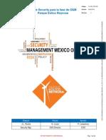 Plan de Security O&M Parque Eólico Reynosa
