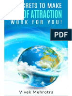 3 Secrets to make the Law Of Attraction work