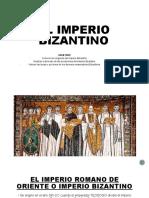 EL IMPERIO BIZANTINO