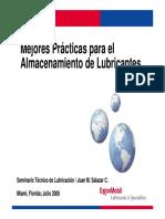 Mejores Practicas para el Manejo y Almacenamiento de Lubricantes1 Read-Only Compatibility Mode (2).pdf
