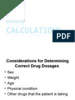 2- Drug Calculations (1 Hour)-1