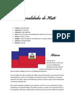 Generalidades de Haití