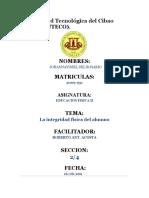RESUMEN EL DOCENTE Y LA INTEGRIDAD FISICAS DE LOS ALUMNOS