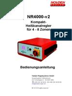 NR4000-Bedienungsanleitung