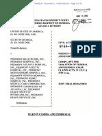 John Doe vs. Piedmont Healthcare