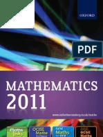 Maths Catalogue 2011