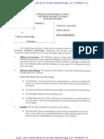 Dennard Plea Agreement