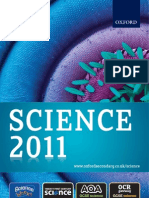 Science Catalogue 2011