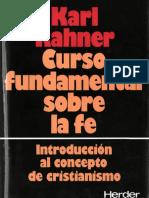 Curso Fundamental sobre a Fé - Rahner.pdf