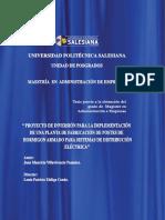 UPS-tesis-proyecto empresarial