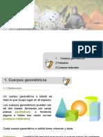 Clase 21 Cuerpos geométricos.ppt