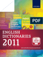 English Dictionaries Catalogue 2011