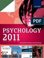 Psychology Catalogue 2011