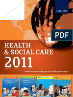 Health and Social Care Catalogue 2011