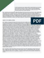 Ley de Ejercicio Profesional del Psicólogo N° 5436