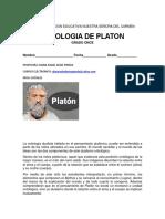 ONTOLOGIA DE PLATON GRADO ONCE