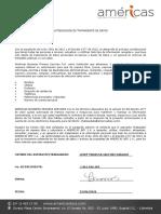 F12 010101 Autorización Tratamiento Datos