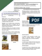 Tecnología sobre los materiales y sus propiedades- Grado Noveno