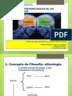 SESION  01 EPISTEMOLOGÍA CCSS