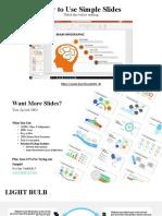 SimpleSlides FREE Slides A - 66 Slides + Icons.pptx