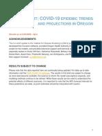 Oregon COVID 19 Projections 2020-06-25